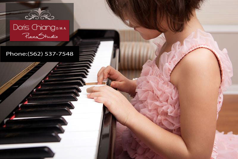 Piano Lessons in Whittier Benefit Young Children