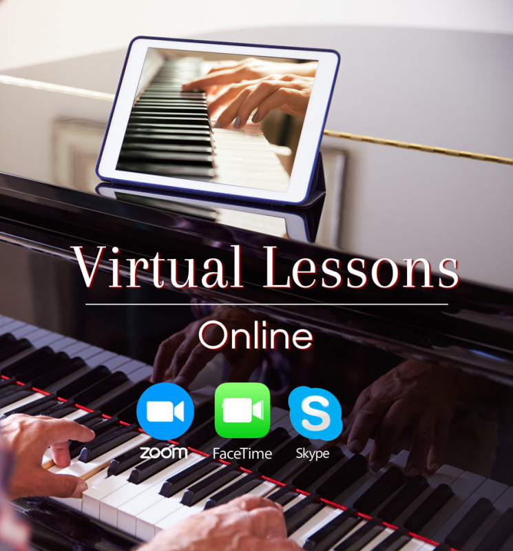 Virtual piano lessons